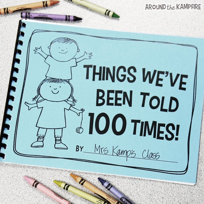 """Free Things We""""ve Been Told 100 Times class book"""