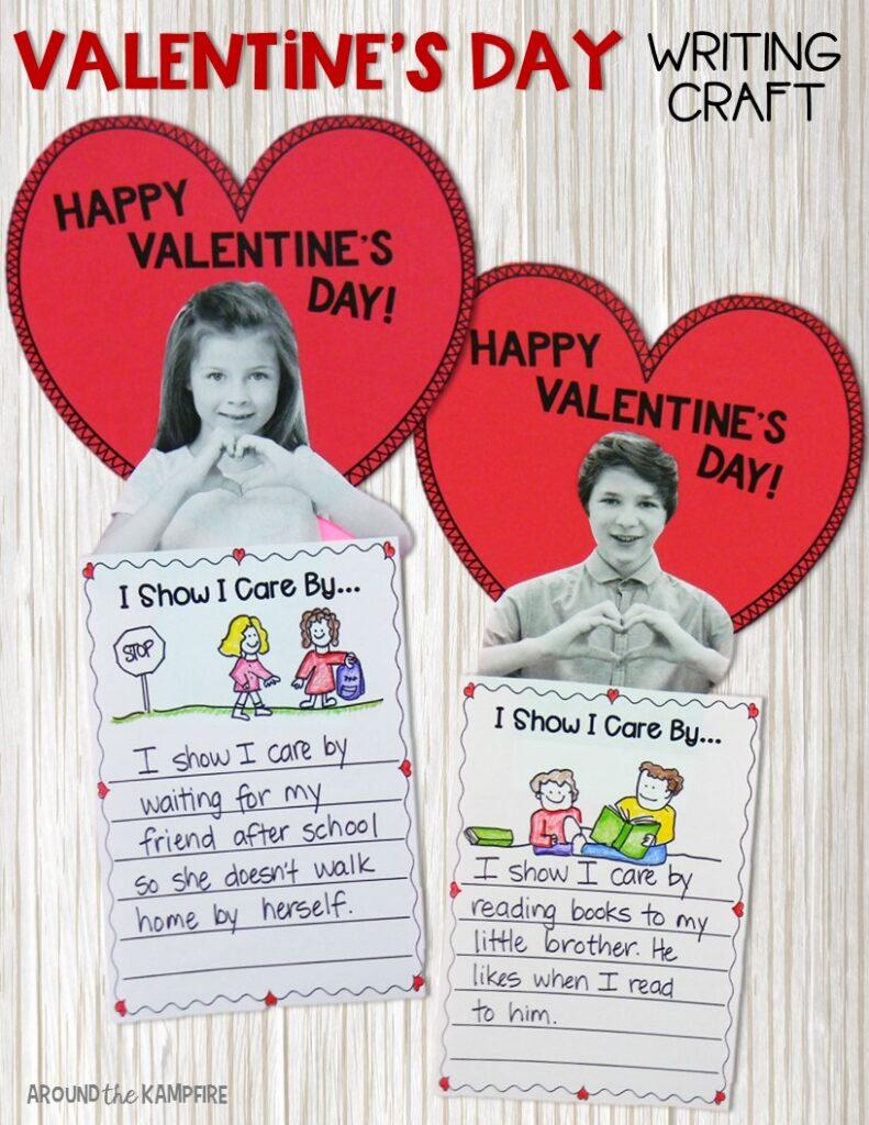 Valentines Day Writing Craft