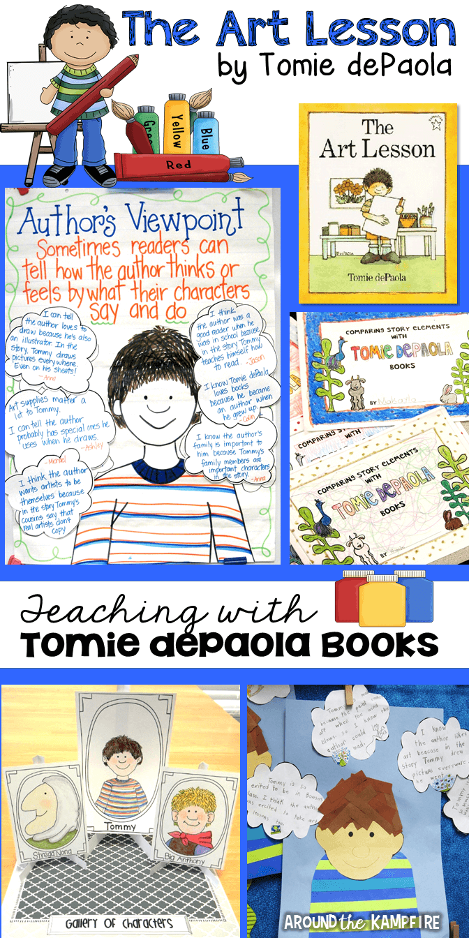 Teaching activities for The Art Lesson by Tomie dePaola
