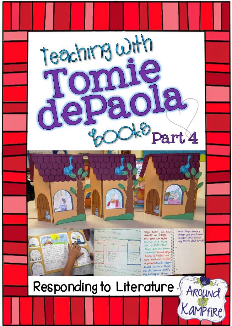 Teaching with Tomie dePaola Books Part 4: Responding to Literature