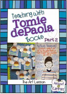 Teaching with Tomie dePaola books-The Art Lesson