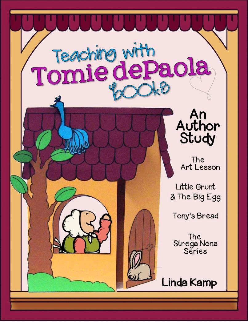 Tomie dePaola author study - YouTube
