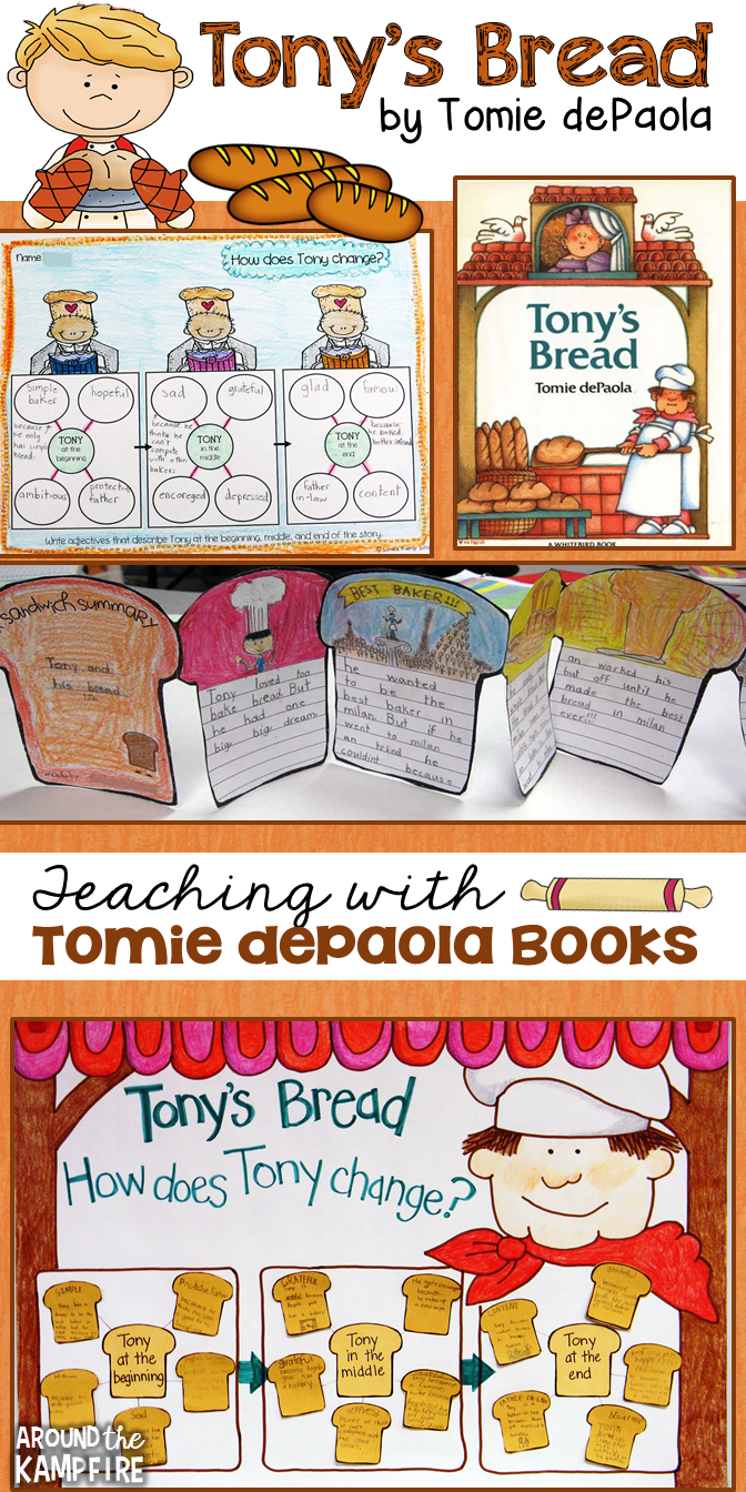 Teaching ideas, activities, and resources for Tony's Bread by Tomie dePaola