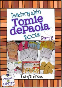 Teaching with Tomie dePaola books-Tony's Bread