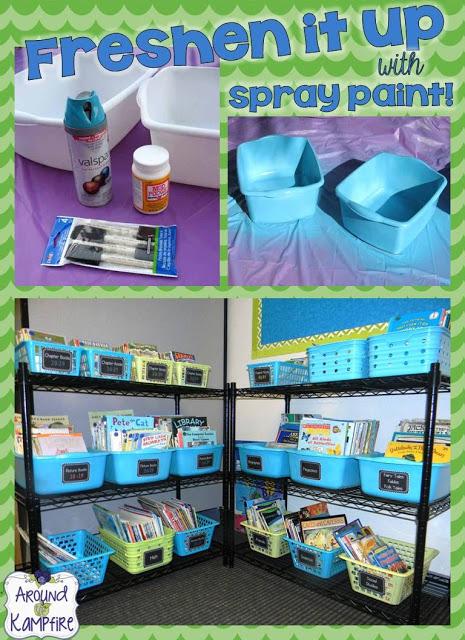 Freshened Up My Classroom!