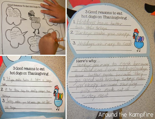 Thanksgiving persuasive writing Pigeon-style!