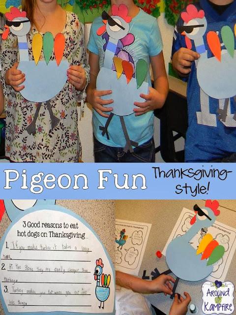 Thanksgiving persuasive writing craft