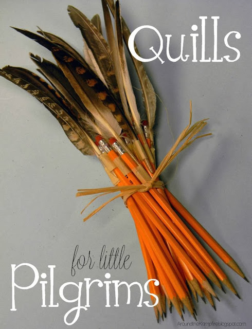 Thanksgiving writing quills