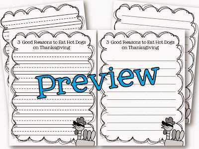 Thanksgiving persuasive writing publishing paper