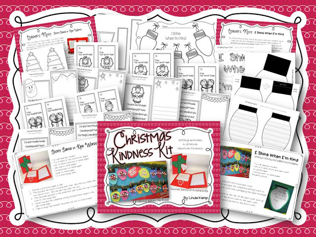 Christmas Kindness writing crafts