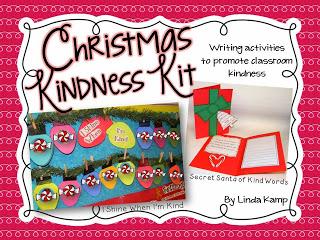 Christmas Kindness writing crafts