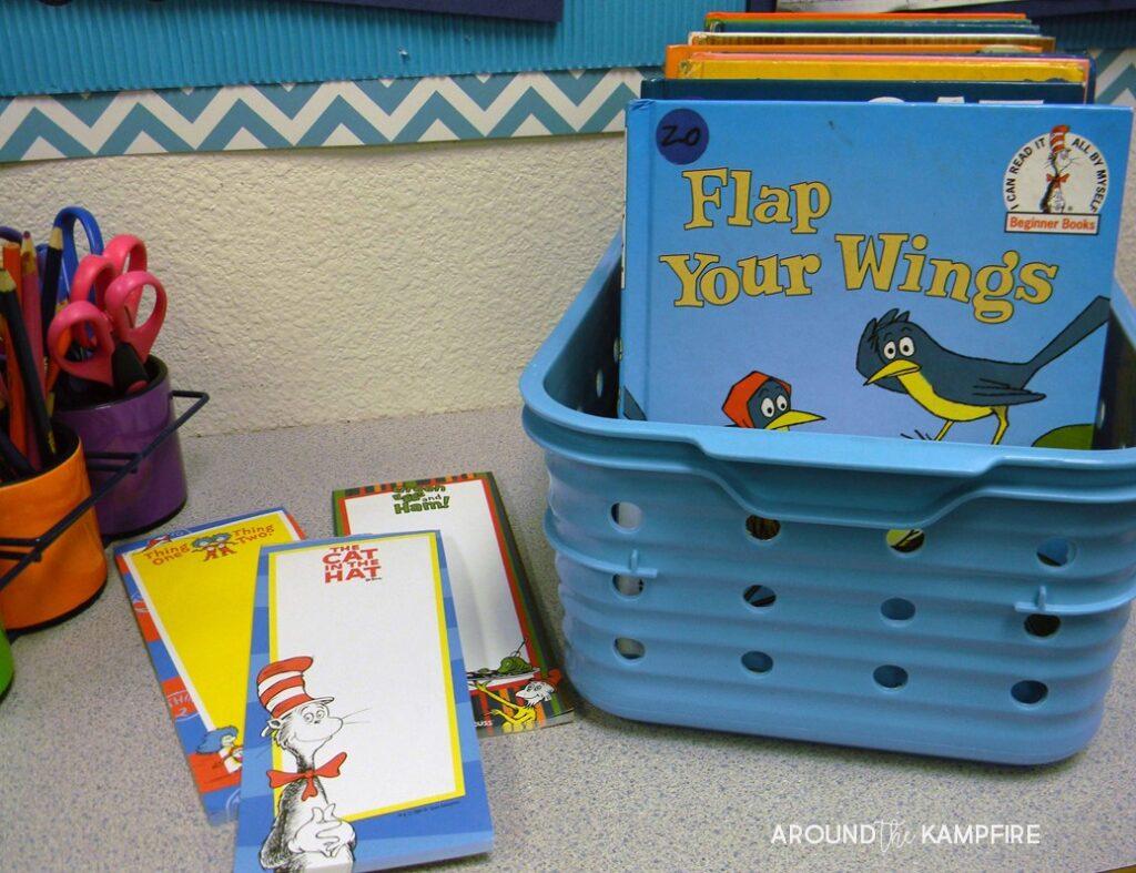 Literacy Week center idea-Alphabetizing book titles