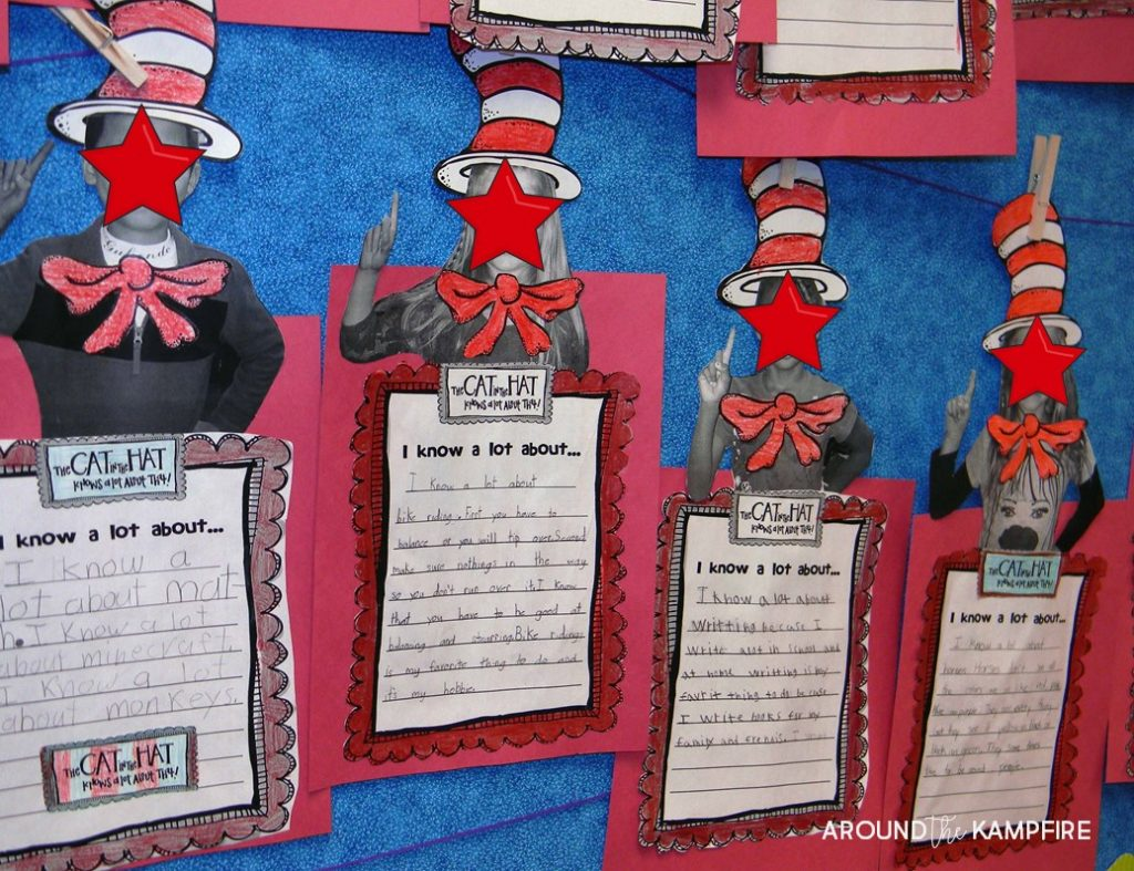 Literacy Week writing