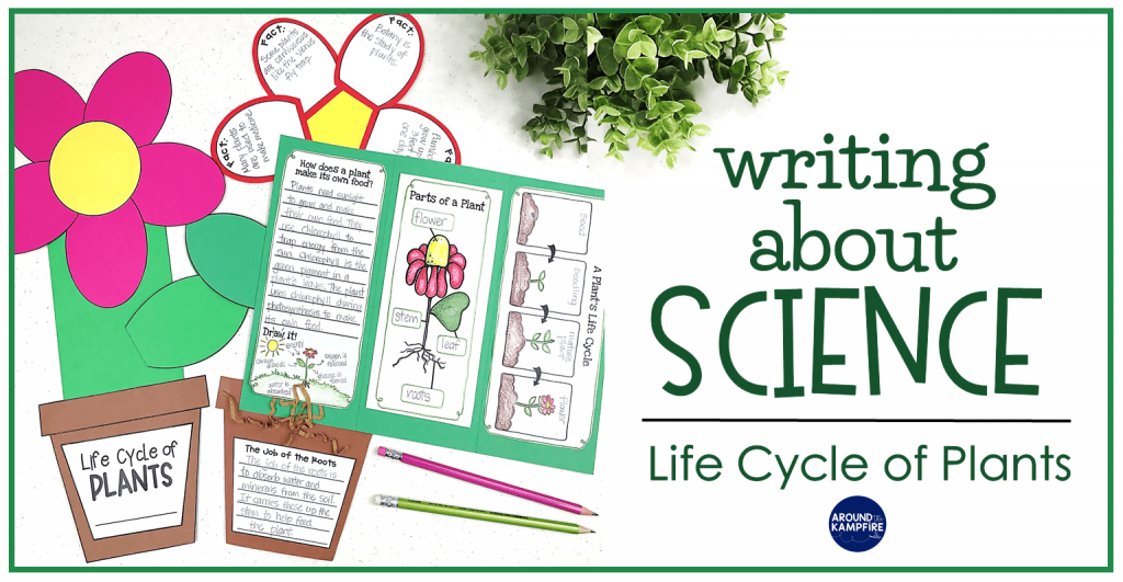 Plant life cycle activities-Creative ways to get kids writing about science