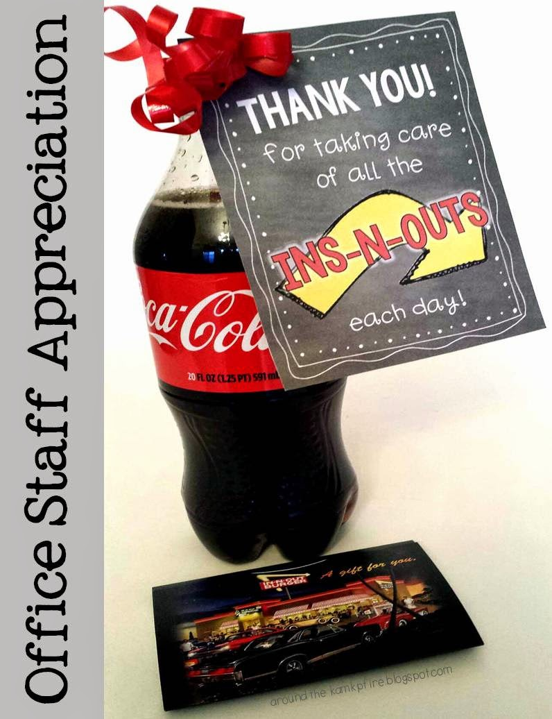Office Staff Appreciation Freebie
