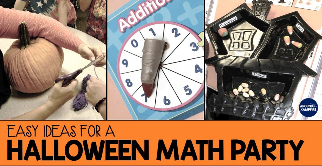 Halloween math party ideas for 2nd grade.