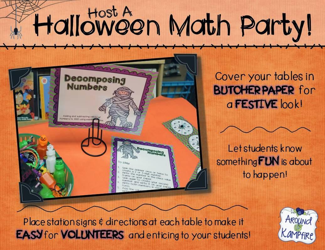 Host A Halloween Math Party!
