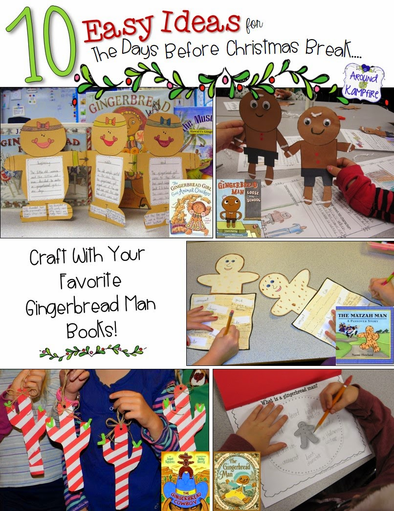 Classroom Craft Ideas ~ Easy classroom christmas ideas for that last crazy week