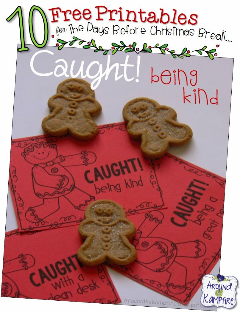 10 Free Christmas Printables for the Classroom
