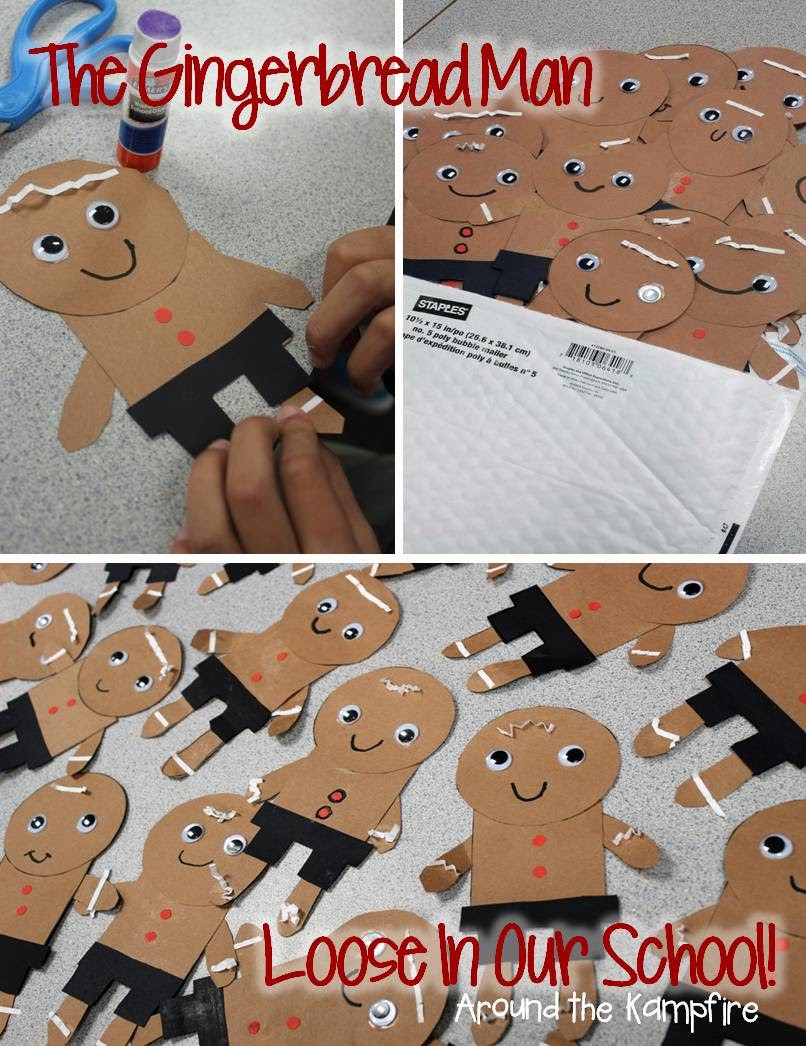 The Gingerbread Man Loose In Our School Class Book Gingerbread