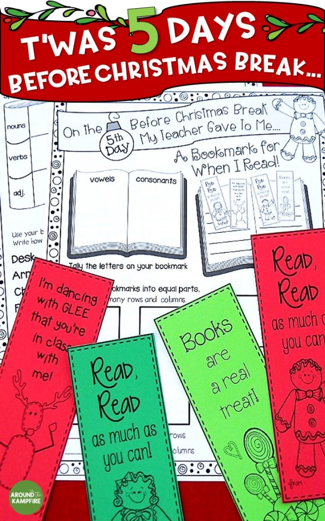 need something to keep your first or second graders engaged and still learning that last crazy - When Is Christmas Break