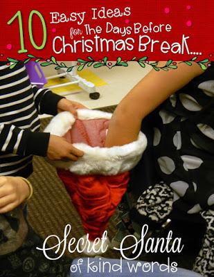 10 Easy Ideas for the Last Week Before Christmas Break