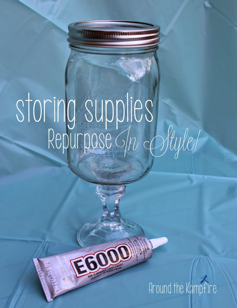 Easy ideas for classroom decor with DIY apothecary jars