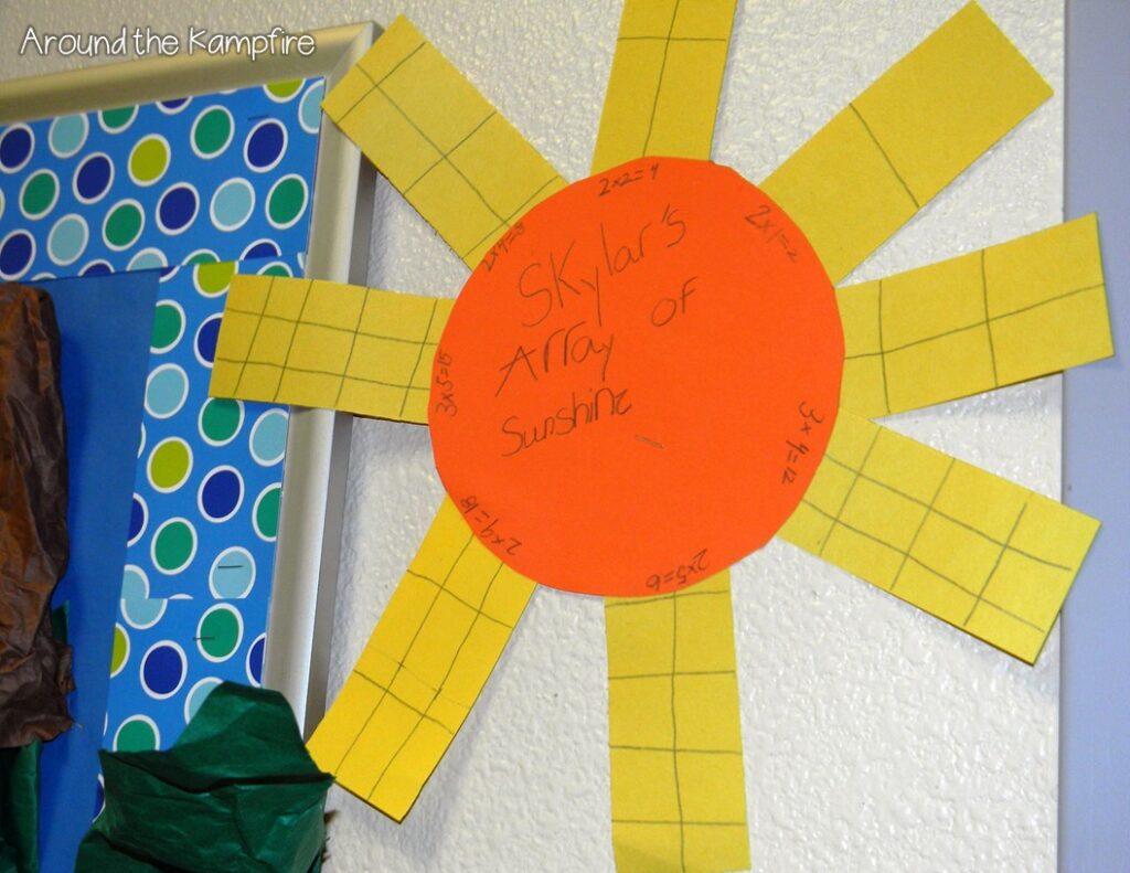 Array of sunshine multiplication craft