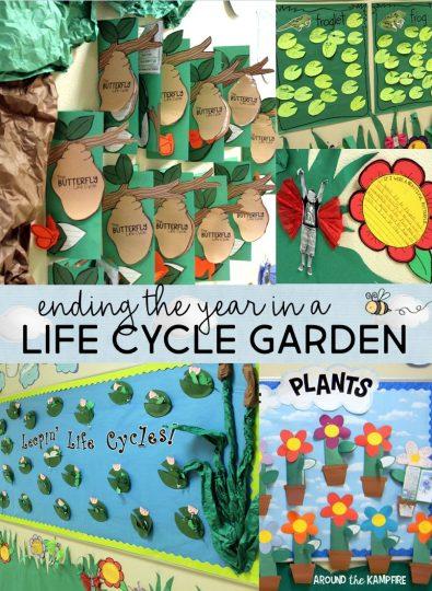 Life cycle garden hallway dsiplay