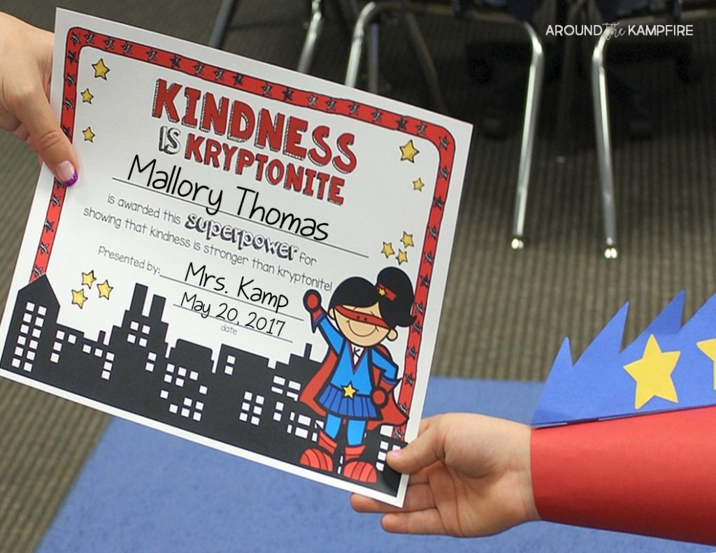 10 Ways To Give Your Students A Superhero Send-Off! - Around