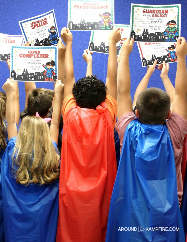 10 Ways To Give Your Students A Superhero Send Off Around The