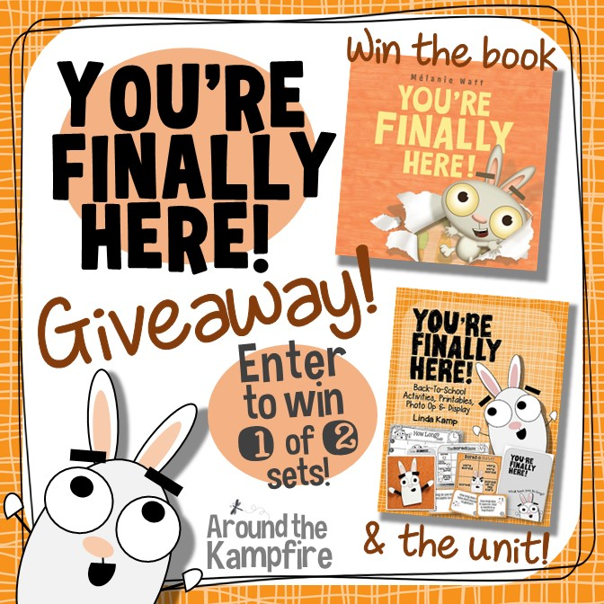 You're Finally Here! Book and a Bundle Giveaway!