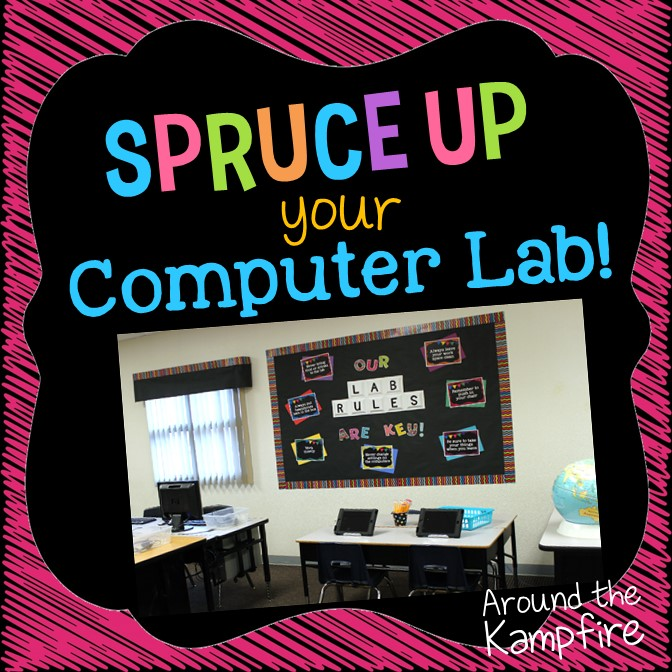Clroom Decor Ideas To Spruce Up Your Computer Lab With Chalkboard See How