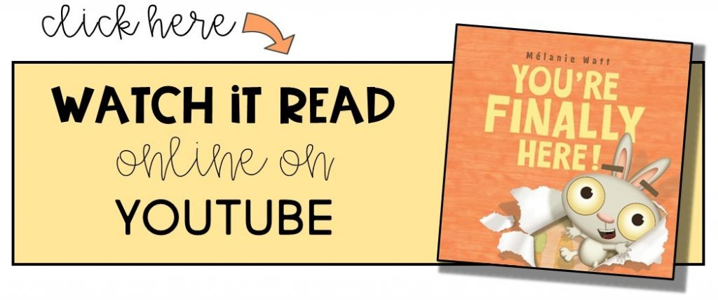 You're Finally Here read aloud on YouTube
