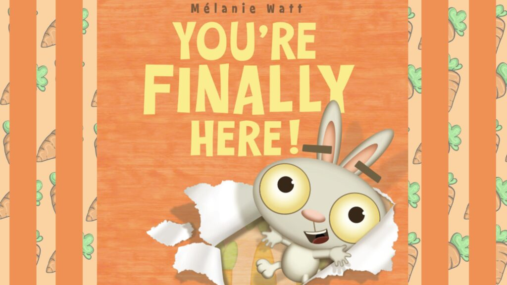 You're Finally Here! first day of school read aloud video