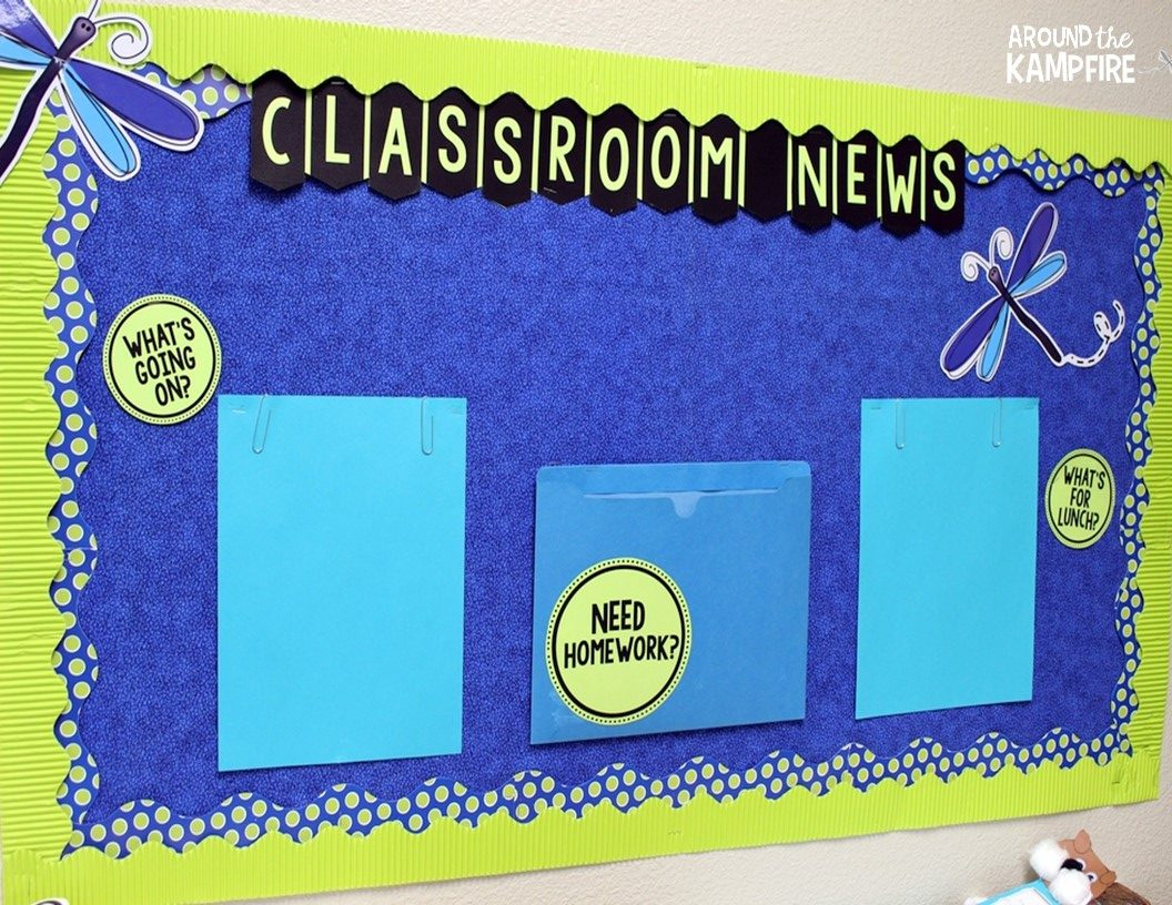 Classroom Newspaper Ideas : Classroom tour around the kampfire
