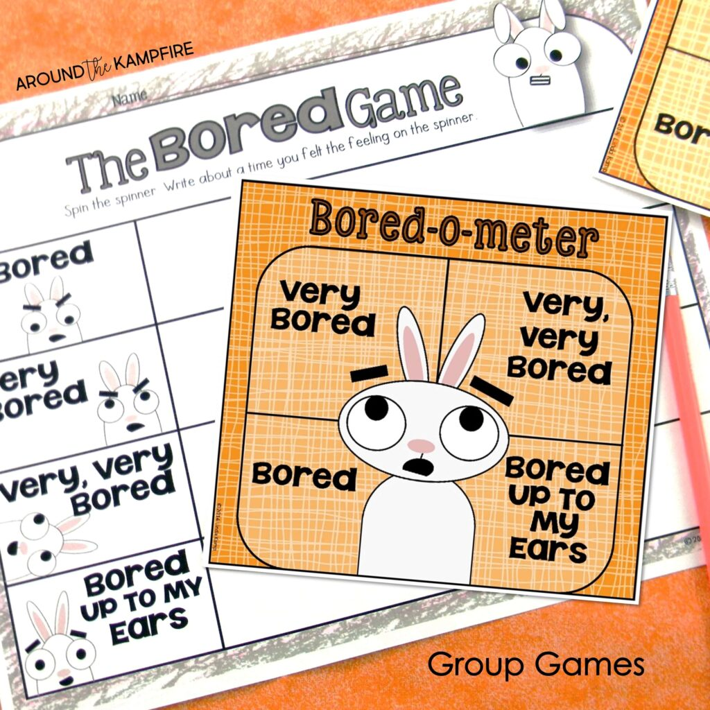 You're Finally Here! The bored game back to school activity