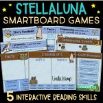 Stellaluna activities for SMARTBoard. Reading skills and mini lessons for teaching story sequencing, fact adn opinion, nouns/pronouns, 2 sounds of C, and story vocabulary.