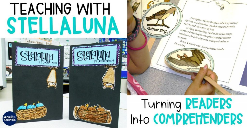 Teaching with Stellaluna: Turning Readers into comprehenders. Comprehension strategies for going deeper into the characters and determining a character's point of view. This post also has some great ideas for having students write about what they are reading.
