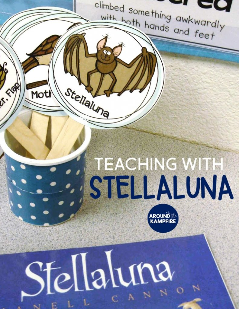 Teaching with Stellaluna: Turning readers into comprehenders by going deep into characters and their varying points of view.