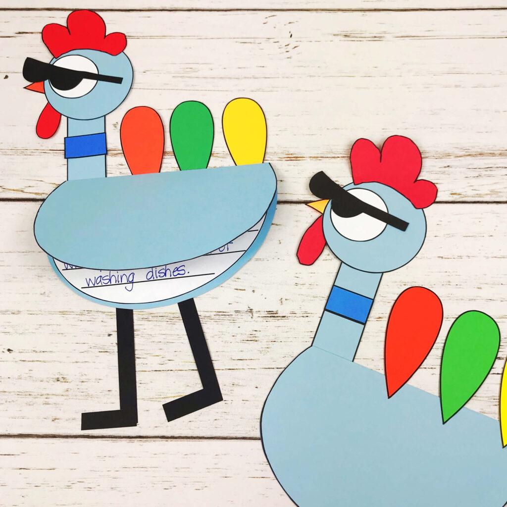 turkey in disguise thanksgiving activities
