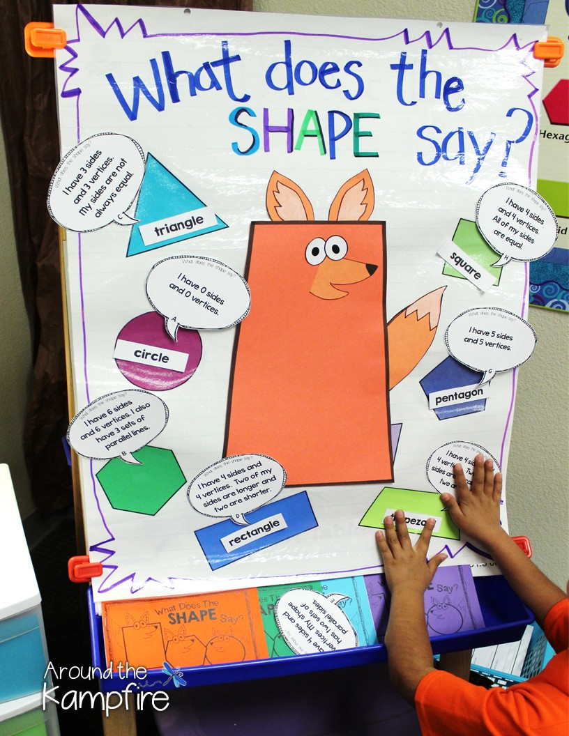 What Does The Shape Say? & Quadrilateral Quotes!