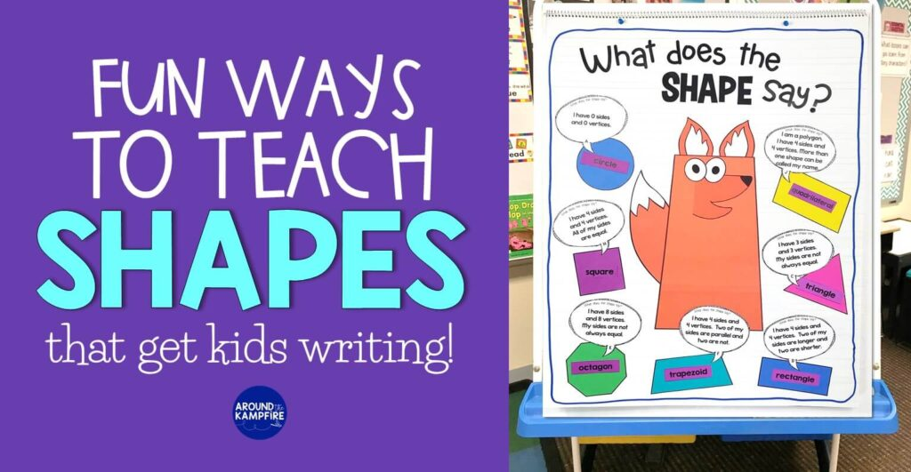 2D & 3D shapes activities for 1st and 2nd gradee