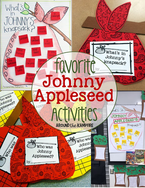 What's In Johnny's Appleseed's Knapsack?