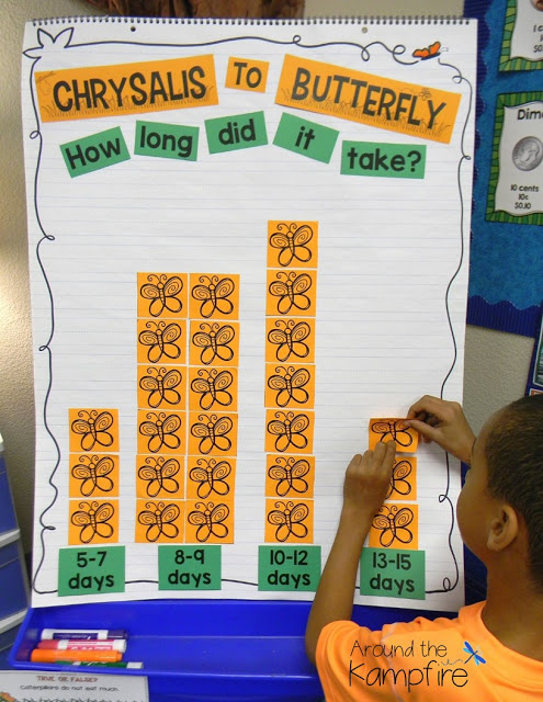 Butterfly Math and Science Activities