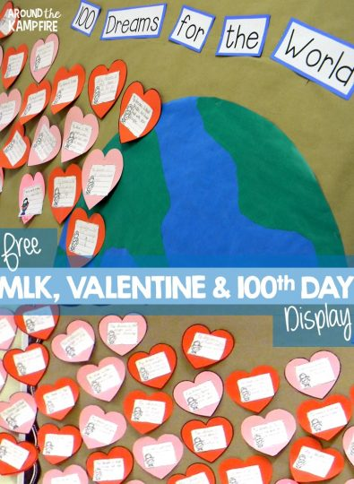 All-In-One MLK Day, Valentine's Day & 100th Day Display