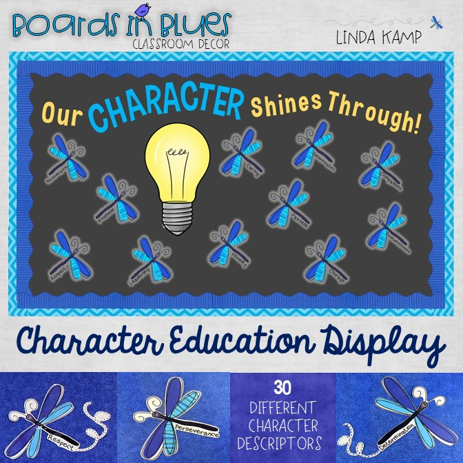 Character Education Bulletin Board Display