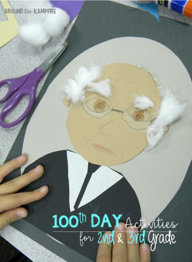 100th Day activities for 2nd and 3rd grade- Reading, writing, and math ideas just for 2nd and 3rd graders