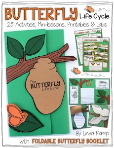 Butterfly Life Cycle complete science unit Linda Kamp