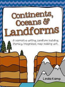 Complete Landforms Unit for Grades 1-3